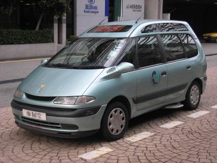Taxi at Kuala Lumpur Airport, Malaysia