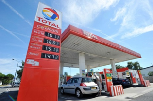 Car rental fuel policy at Toulouse Airport, France