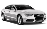 Audi A5 car rental at Toulouse Airport, France