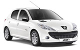 Peugeot car rental at Toulouse Airport, France