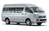 Toyota Commuter 12 seater car rental at Bangkok - Suvarnabhumi Airport, Thailand