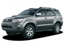 Toyota Fortuner car rental at Phuket Airport, Thailand