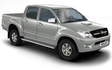 Toyota Hilux car rental at Bangkok - Suvarnabhumi Airport, Thailand