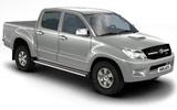 Toyota Hilux car rental at Kuala Lumpur Airport, Malaysia