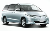 Toyota Minibus car rental at Auckland Airport, New Zealand