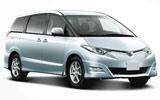 Toyota Minibus car rental at Kuala Lumpur Airport, Malaysia