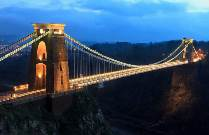 Car rental in Bristol, Clifton bridge, UK