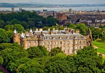 Car rental in Edinburgh, Holyrood Palace, UK