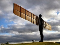 Car rental in Newcastle upon Tyne, Angel of the North, UK