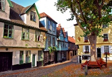 Car rental in Norwich, Elm Hill, UK