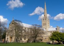 Car rental in Norwich, The Cathedral, UK