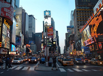 Car rental in Manhattan, USA
