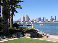 Car rental in San Diego, USA