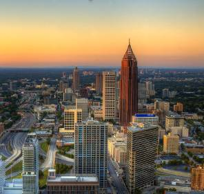 Atlanta in Georgia car rental, USA
