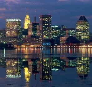 Baltimore in Maryland car rental, USA