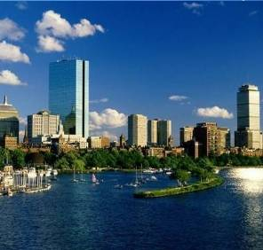 Boston in Massachusetts car rental, USA