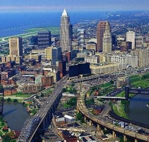 Cleveland in Ohio car rental, USA