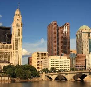 Columbus in Ohio car rental, USA