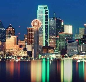 Dallas in Texas car rental, USA