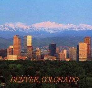 Denver in Colorado car rental, USA