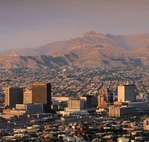 El Paso in Texas car rental, USA
