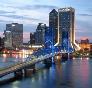 Jacksonville in Florida car rental, USA