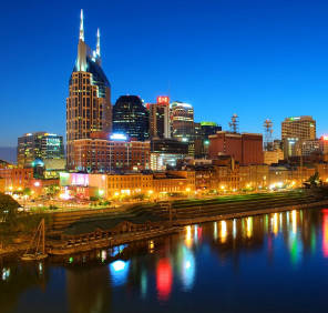 Nashville in Tennessee car rental, USA