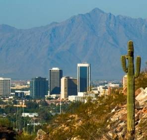 Phoenix in Arizona car rental, USA