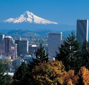 Portland in Oregon car rental, USA