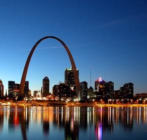 Saint Louis in Missouri car rental, USA