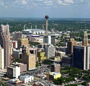 San Antonio in Texas car rental, USA