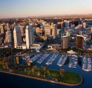 San Diego in California car rental, USA